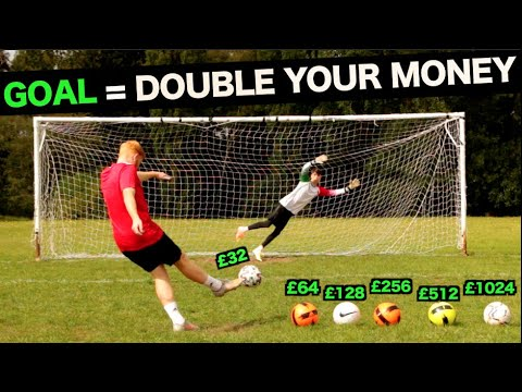 Every Penalty you Score, Your money Doubles (But Miss & you lose it All)