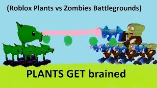 roblox plants vs zombies battlegrounds gameplay - TH-Clip