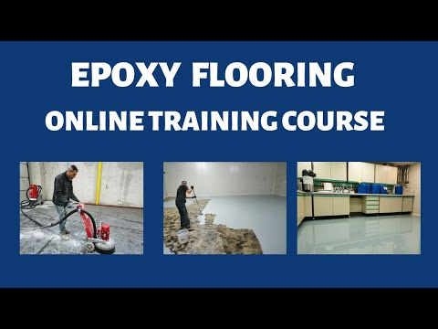 Online Course for Epoxy Flooring (2020) - Join today and start ...