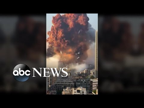 At least 100 dead in Beirut explosion l GMA