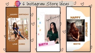 Instagaram Story Ideas | Birthday Story Ideas | Android | Using only Instagram App !!