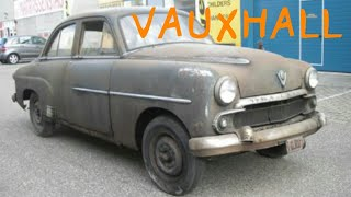 barn find rare car / vauxhall velox 1954 used for spare parts