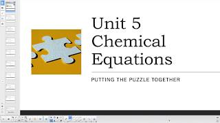Academic Chemistry Chemical Equations
