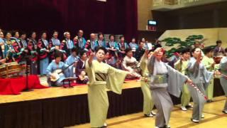 【尾鷲節】〜第27回日本民謡協会三重渓城会発表会