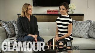 Victoria Beckham talks the Beckham Boys, Cruz & Harper's Love of Beauty | Beauty Talk | Glamour UK - Video Youtube