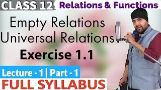 NCERT Chapter 1 Relations and Functions Class 12 IIT JEE Mains
