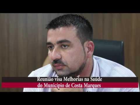 DEPUTADO DR NEIDSON SE REÚNE COM SECRETÁRIO E PREFEITO EVISANDO MELHORIAS PARA COSTA MARQUES