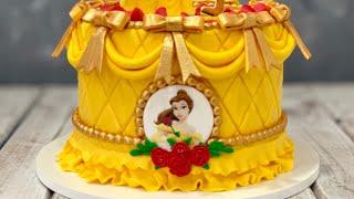 Beauty & The Beast Cake | Disney Princess Cake