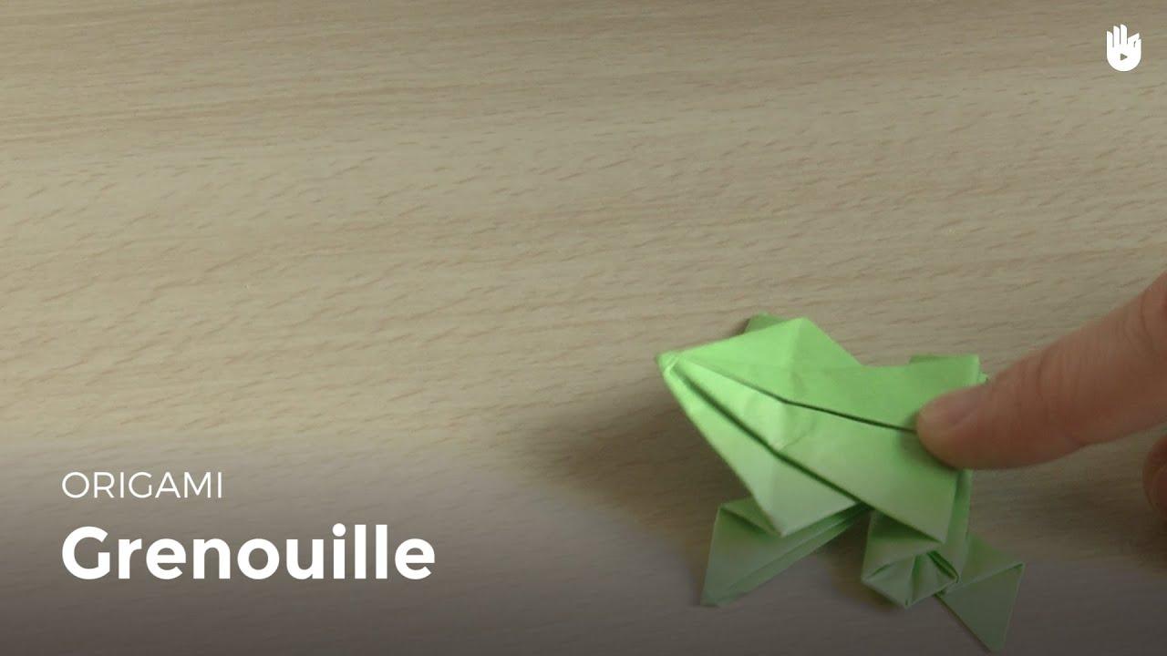 faire une grenouille en papier apprendre faire des origamis sikana. Black Bedroom Furniture Sets. Home Design Ideas