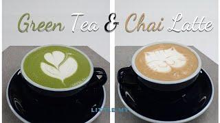 Green Tea Latte & Chai Latte