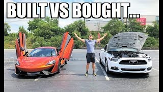 TWIN TURBO COYOTE SO FAST it Should be ILLEGAL!!! McLaren FINALLY Beaten by a Mustang???