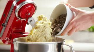 Chocolate Chip Cookies Recipe With The KitchenAid® Stand Mixer