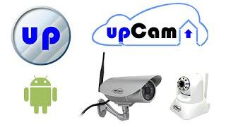 upCam QuickConnect - App Einrichtung auf Android für alle upCam IP Kameras, Cyclone, Tornado