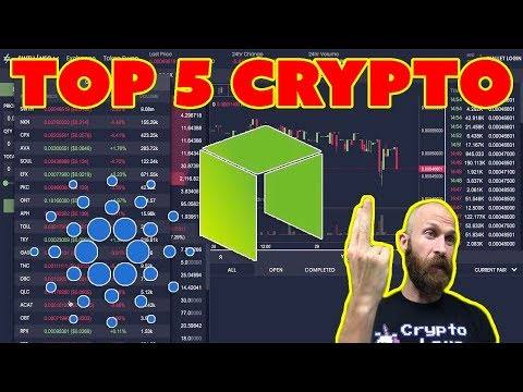 Top 5 Cryptocurrency July - $NEO $ADA (plus some surprises...)