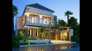 Video Desain Rumah Modern 2 Lantai Bapak Ahyar di  Aceh