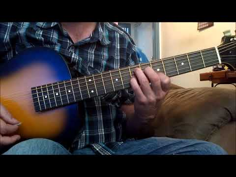 Beginner Acoustic Blues Guitar Lesson
