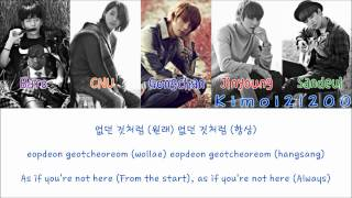 B1A4 - Baby [Hangul/Romanization/English] Color & Picture Coded HD