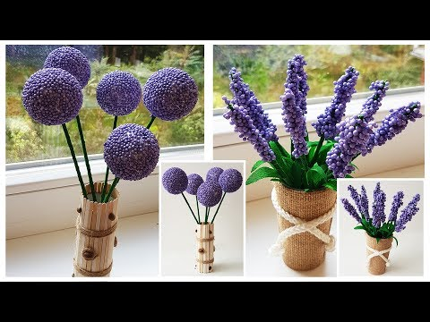Easy Beautiful Lavender And Other Creative Flowers