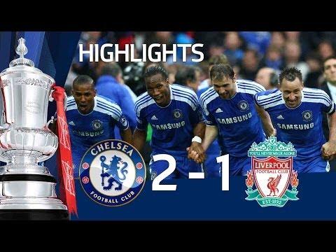 Chelsea 2-1 Liverpool - Official Goals & Highlights - FA Cup Final 5/05/12 | FATV