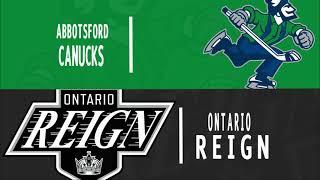 Canucks vs. Reign | Oct. 17, 2021