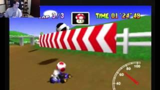 """SgtRaven - Mario Kart 64 Moo Moo Farm 3 Lap PAL 1'29""""68 (NTSC: 1'14""""58)"""