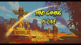 🔴PUBG MOBILE LIVE🔴 HIND GAMING IS LIVE || CHICKEN BOLTI PUBLIC ||