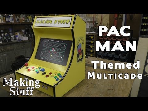 Arcade1up Rampage 3 Player Cabinet Raspberry Pi Mod
