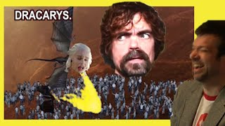 Reaction to Game of Thrones Actors. Best Season Ever!
