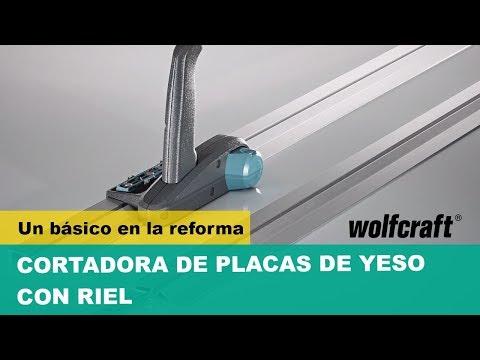 Cortadora de placas de yeso con guia incluida 4014000 Wolfcraft