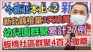 新北本土+2 侯友宜最新防疫說明