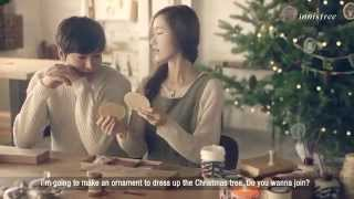 Lee Min Ho & Yoona  Innisfree Green Christmas 2014 Christmas Tree Ornaments Making