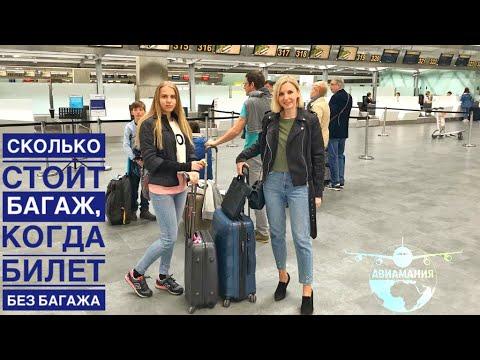 Сколько стоит багаж в самолете если билет без багажа |KLM |#Авиамания