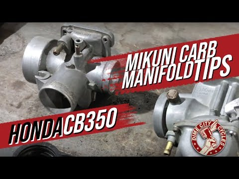 Tip for Installing a Mikuni VM Carburetor on a Stock Honda CB350