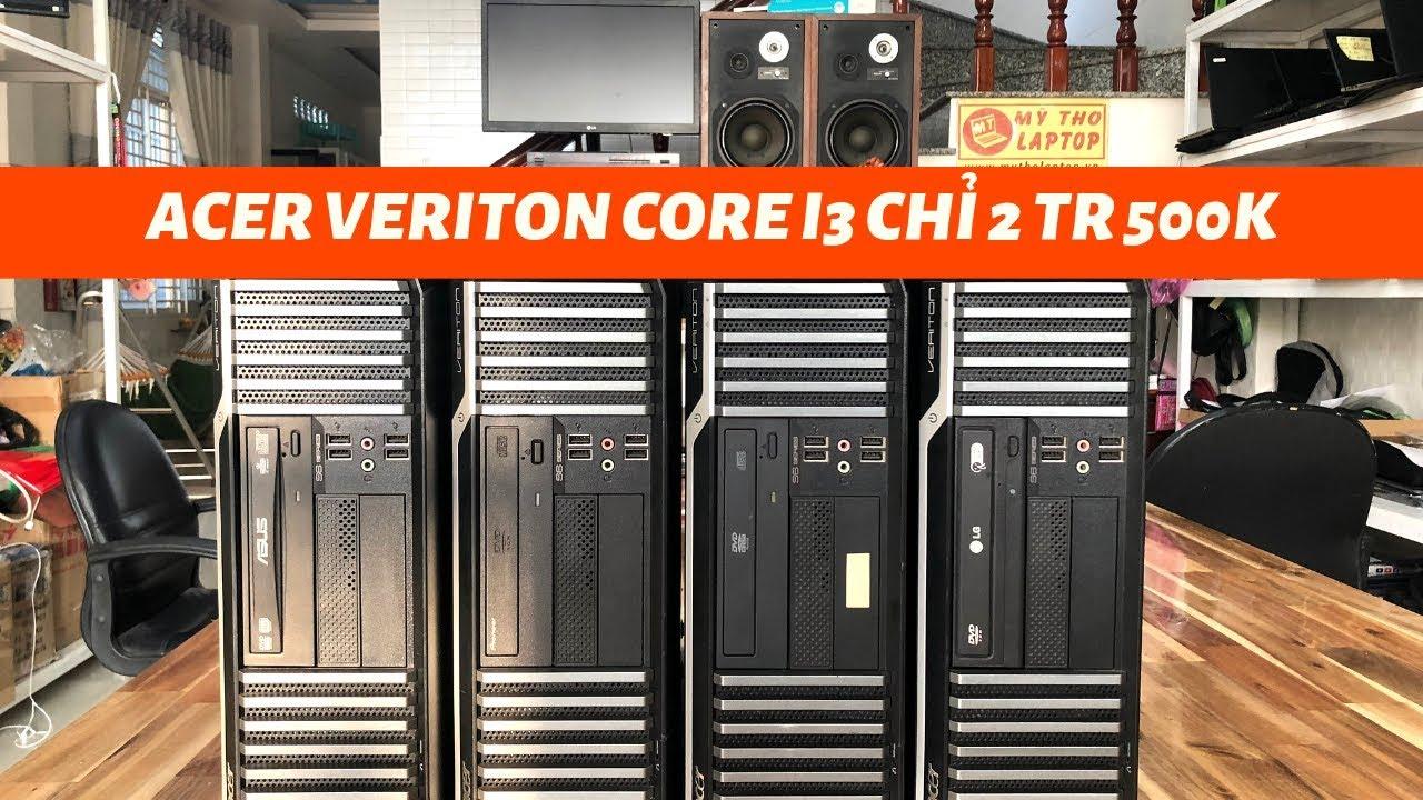 Mỹ Tho Laptop thanh lý phòng lạnh Acer Veriton Core i3 550 - Ram 4GB - HDD 320GB