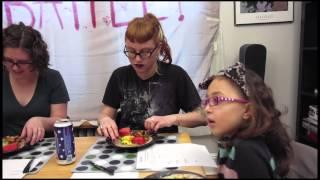 Home Kitchen Battle! Episode 3 Isana Vs. Eli Taco Tussle (vegan Style)
