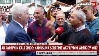 AK PARTİ'NİN KALESİNDE: NAMUSUMA ŞEREFİME AKP'LİYDİM, ARTIK OY YOK !