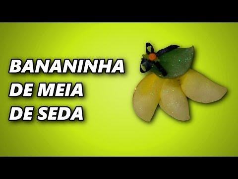 Bananinha meia de seda
