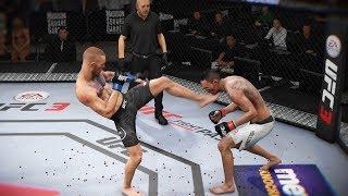 ЦЕЛОВАТЬ НОГИ КОНОРА МАКГРЕГОРА ТОП МОМЕНТ в МИРОВОМ ТОП 10 RANKED UFC 3