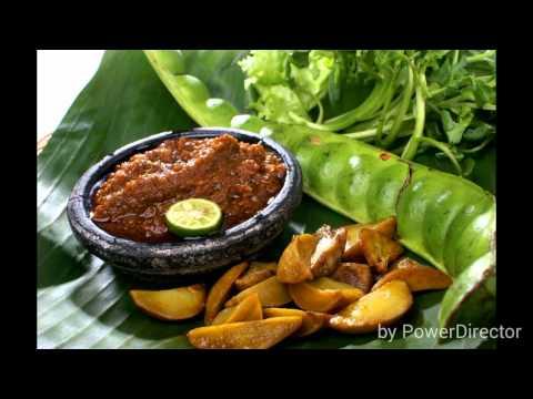 "Video Makanan khas sunda "" RM. NASI LIWET """