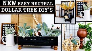 EASY DOLLAR TREE DIYS | NEW HOME DECOR IDEAS 2020 | FALL DIYS