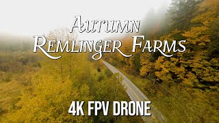 WASHINGTON STATE FALL TRAVEL: 4K FPV Drone Footage & Remlinger Farms Fall Harvest