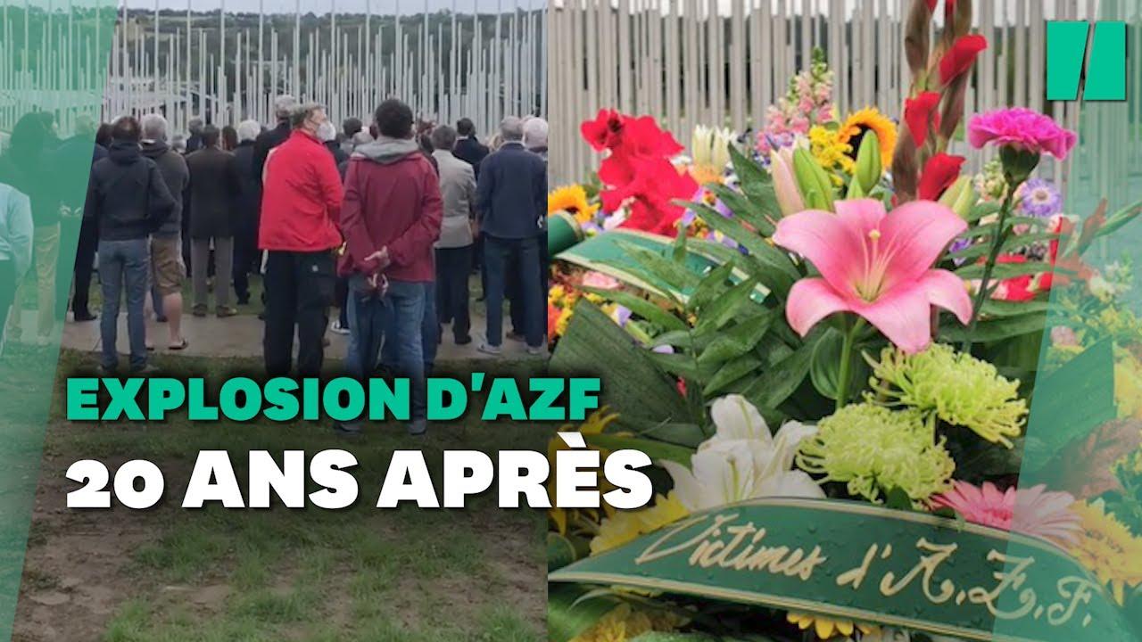 Explosion de l'usine AZF de Toulouse: l'hommage 20 ans après