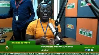 MIDDAY NEWS KASIEBO IS TASTY ON ADOM FM (23-8-19)