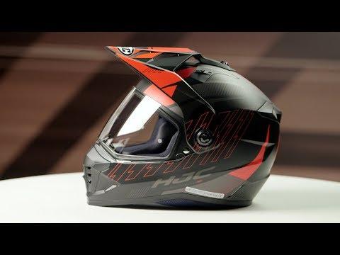 HJC DS-X1 Gravity Dual Sport Helmet Blue