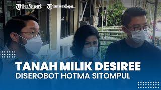 Desiree Tarigan Ungkap Penyerobotan Tanah oleh Hotma, setelah 30 Tahun Dibangun Tembok 195 Meter