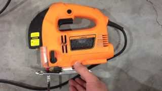 Harbor Freight Chicago Electric Jig Saw  Review POOR