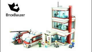 Lego City 60204 City Hospital - Lego Speed Build