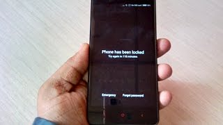 How to Remove Pattern Lock in All Xiaomi Redmi Phones