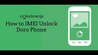 How to IMEI unlock Doro Phone - YouTube