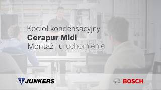 Gazowy kocioł Junkers Cerapur Midi – Montaż i uruchomienie (dla profesjonalistów)